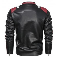 Кожаная куртка High-Five biker
