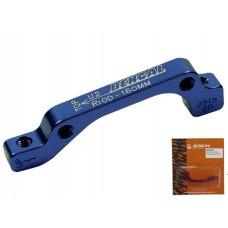 Bengal адаптер adu2 дискового тормоза is 160мм задний, синий