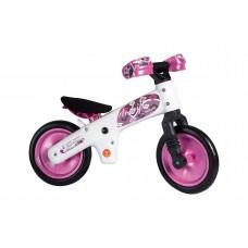 Детский беговел Bellelli беговел детский b-bip, цвет: бело-розовый