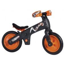 Детский беговел Bellelli беговел детский b-bip, цвет: чёрно-оранжевый