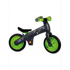 Детский беговел Bellelli беговел детский b-bip, цвет: чёрно-зелёный