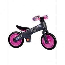 Детский беговел Bellelli беговел детский b-bip, цвет: чёрно-розовый.