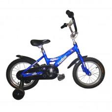 "Детский велосипед Totem 10b802, диаметр колес: 12"", цвет: чёрно-синий"