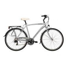 Велосипед Adriatica SITY 3 Man 28, рама ал. 55см, 6 ск. Серый