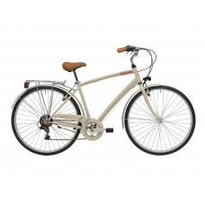 Комфортный велосипед Adriatica Trend Man, бежевый, 6 скоростей, размер рамы: 500мм (19,5)