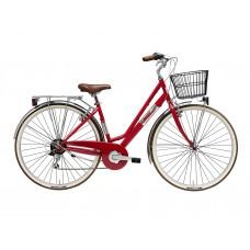 Велосипед Adriatica PANAREA Lady 28, рама сталь, 6 ск., красный