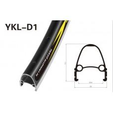 Обод двойной 26x1.75 чёрный /CNC 36H