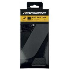 Оплётка руля JAGWIRE PRO BAR TAPE чёрная: толщина 3,0мм, дышащая, 3 слоя ПУ/ткань/пена, длина 2160мм, вес с заглушками 84г