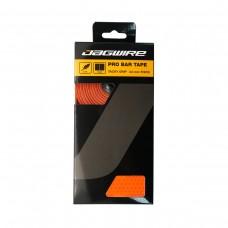 Оплётка руля JAGWIRE PRO BAR TAPE оранжевая: толщина 3,0мм, дышащая, 3 слоя ПУ/ткань/пена, длина 2160мм, вес с заглушками 84г