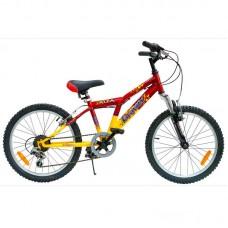 Подростковый велосипед Gravity Alfa 20, цвет: красно-жёлтый