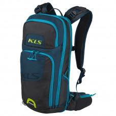 Рюкзак KLS Switch 18, интегрированная защита спины (возможно использование только защитной панели и гидратора), объём 18л, интегрированный дождевик