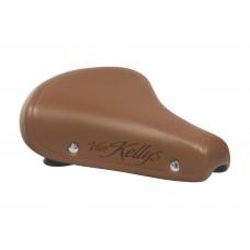 Велосипедное седло Kellys седло van kellys с заклёпками, на пружинах, для городских велосипедов