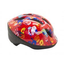 Детский велосипедный шлем Вellelli цвет: оранжевый. рисунок: ладошки. размер: s (48-53)