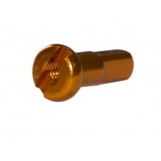 Pillar ниппель pt734 14g алюминий 7075, длина 12мм, золотистый
