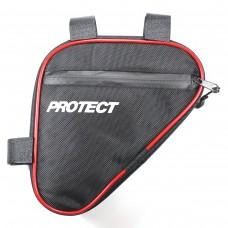 Велосумка под раму, р-р 19,5х20х5см, PROTECT