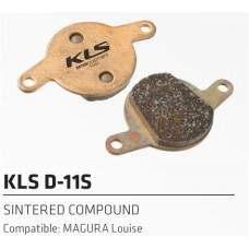 Колодки тормозные к дисковому тормозу KLS D-11S FORMULA Louise, Magure Julie