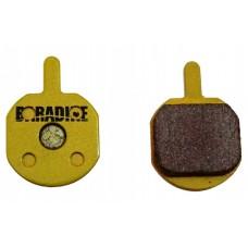 BARADINE Колодки для диск. торм. DS-26S SINTERED (Hayes SOLE hydraulic, MX2, MX3, MX4, GX2 and Sole mechanical)
