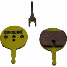 BARADINE Колодки для диск. торм. DS-38S+SP-38 SINTERED (Avid BB5)