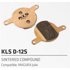 Колодки тормозные к дисковому тормозу KLS D-12S FORMULA Julie, Magura Clara 2001-2, Louise 2002, Louise FR