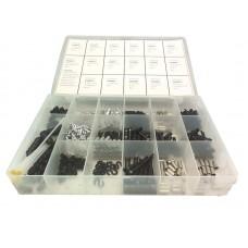 Jagwire набор для ремонта оболочкек тросов 17 предметов (наконечники, заглушки, насадки и т.д.)