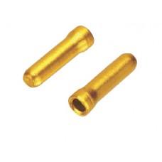 Jagwire заглушка троса переключения до 1,2мм, золотая, бутылочка 500 шт.