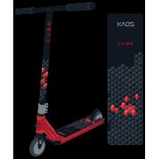 Самокат трюковый XAOS Cube Red 110 мм
