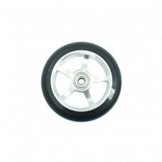 Колесо для трюкового самоката 110мм серебристое, AL6061 ПУ