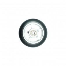 Колесо для трюкового самоката 100мм серебристое, AL6061 ПУ
