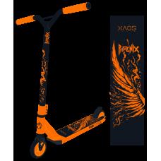 Самокат трюковый XAOS Phoenix Black 100 мм