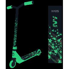 Самокат трюковый XAOS Ivy Green, 100 мм