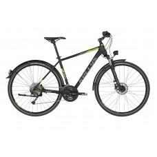 """Туристический велосипед Kellys Phanatic 40 28"""" черный, размер: S"""