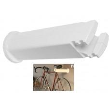 Устройство настенное Peruzzo cool bike rack универсальное для хранения велосипеда, цвет: белый