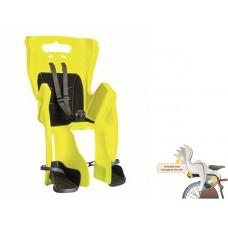 BELLELLI Сидение заднее Little Duck Relax, Hi-Viz,светоотражающее, жёлтое, до 22кг