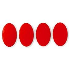 Weldtite аптечка red devils weldtite, 8 овальных трехслойных суперзаплаток-самоклеек 28х18мм (Англия)