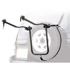 Велокрепление на запасное колесо автомобиля Peruzzo Bike Сarrier 4x4, 2 велосипеда