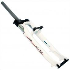 """Велосипедная вилка RST VERSE ML 28"""", белая, маслянно-пружинная"""