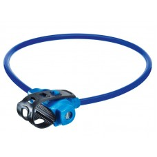 Велосипедный замок Trelock ks 211. 10мм х 75см. уровень защиты: 2. цвет: синий. с держателем fixxgo