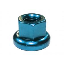 Mr.control гайка m-fxs для оси Fix Gear, закалённая сталь, M10X1.0, L:14,6мм, синяя