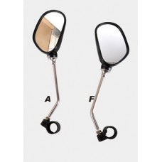 Зеркала, сталь/пластик, левое+правое
