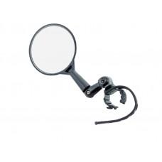 """Велосипедное зеркало TBS dx-2002u 3"""" с регулировкой в различных плоскостях, универсальное крепление на руль или вынос, в торговой упаковке"""