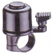 Велосипедный звонок nuvo nh-b405ap, d:33м. материал: алюминий, пластик. крепление на руль d:22,2 мм. цвет: черный
